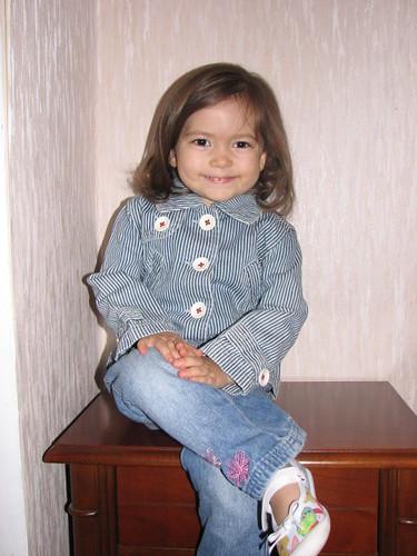 Eva Prepelita - 2 ani shi 2 luni