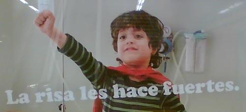 Publicidad de la Fundación Theodora