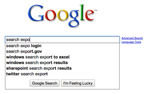 google search suggestions helps you go back