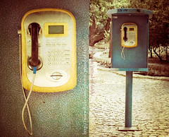 public phone (Proud of faith [BHR]) Tags: park public phone iran mashhad      wakilabad