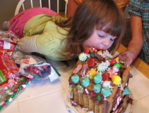 The all girl gingerbread house
