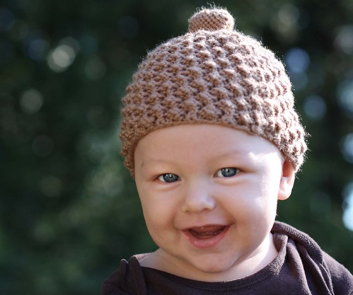 Knitting Pattern For Acorn Hat : Homegrown Happy: Acorn Cap Pattern