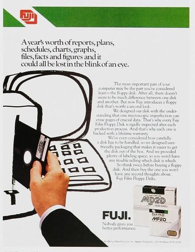 Discos de 5 ¼ de Fuji (1984)