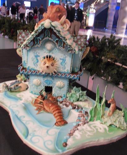 Undersea Gingerbread House 2