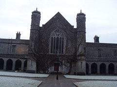 NUIG, snowy day (LAF2010) Tags: ireland galway nature environment nuig
