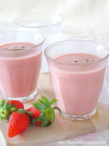 Strawberry Lassi 3