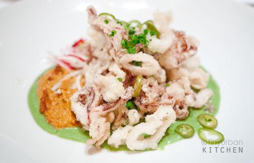 Mesa Grill calamari