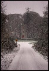 Obscured - Day #80 (Stolen Art) Tags: ireland winter irish white snow ice oneaday wind year 365 blizzard challenge 365challenge