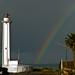 Rainbow over the border