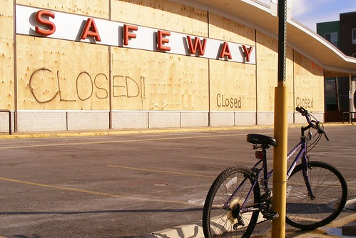 Wheaton Safeway and Bike