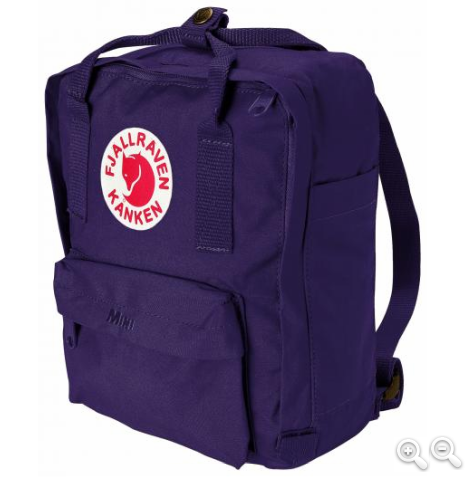kånken mini - purple