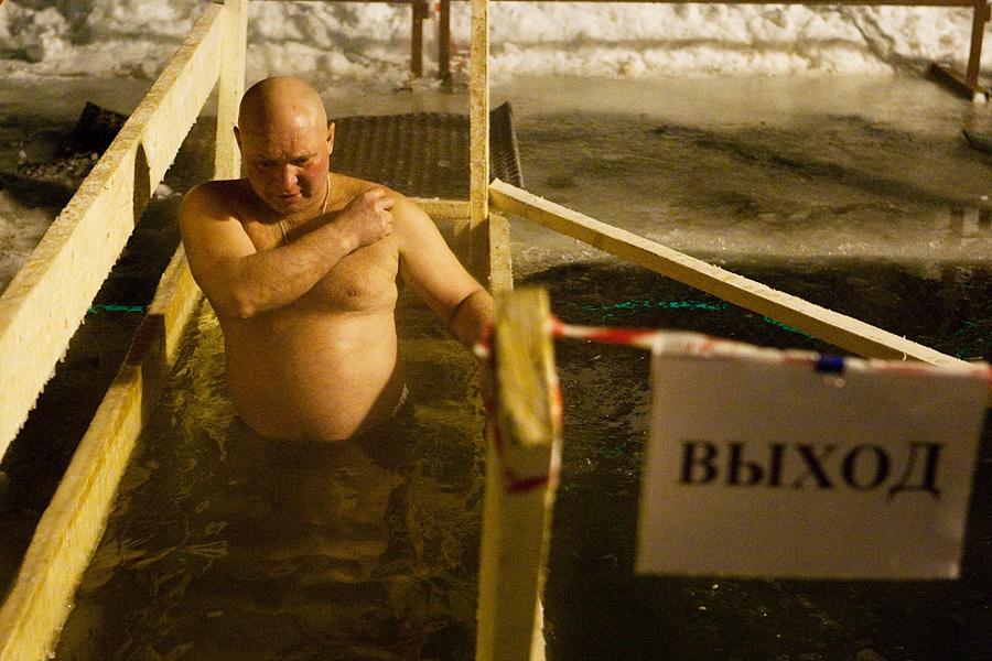 Nord alliance media - крещенские купания 2012