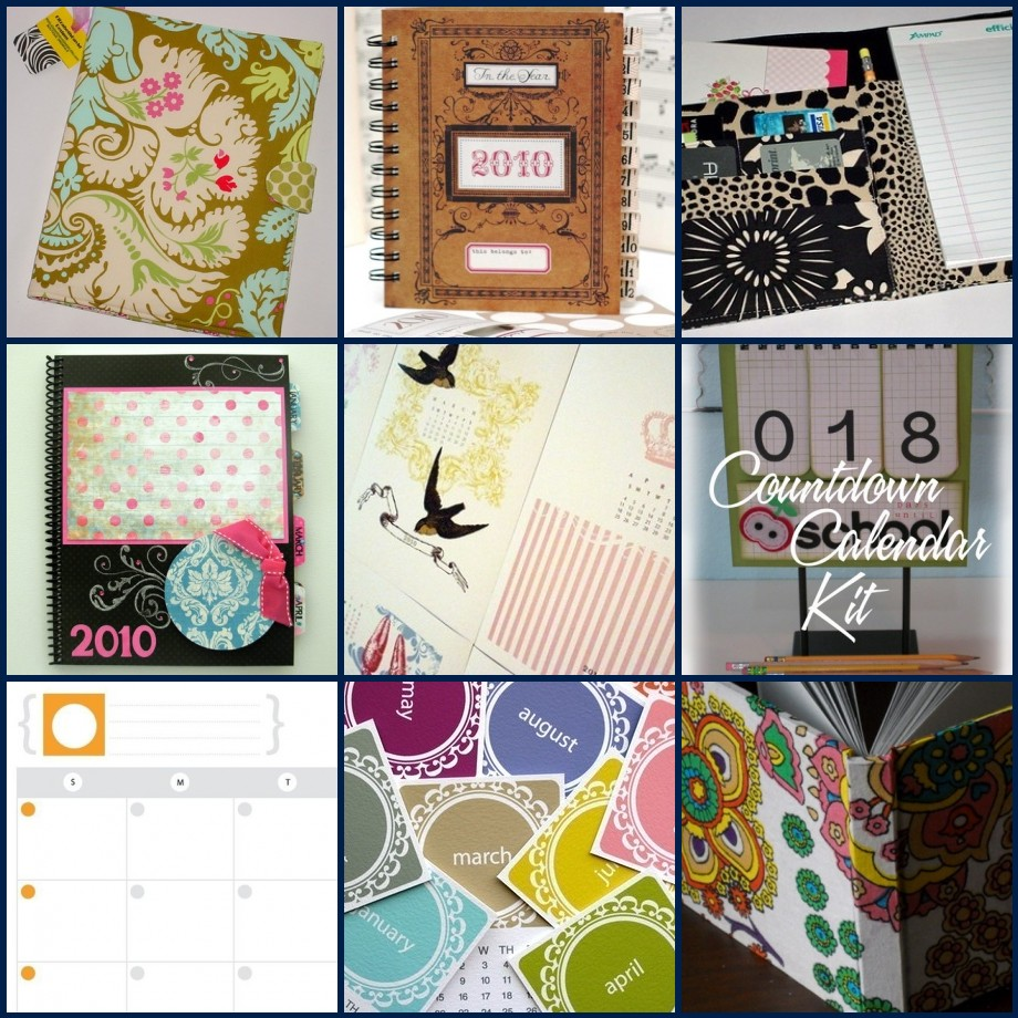 January Etsy Review - Planners/Calendars