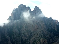 Sommet du Castellucciu : vue du massif des Ferriate