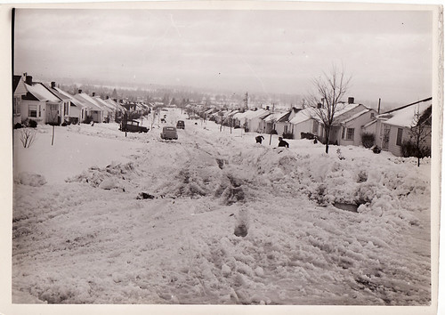 Snow in Portland, 1954