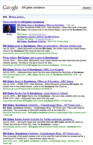 bill gates sundance - Google Search