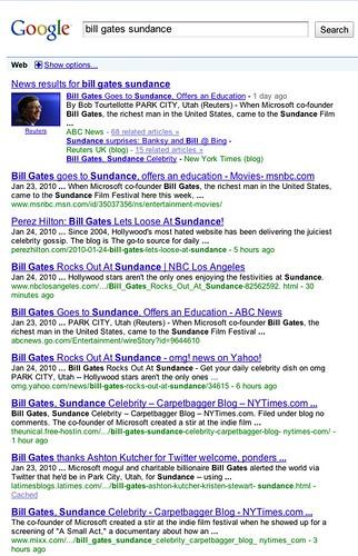 bill gates sundance - Google Search