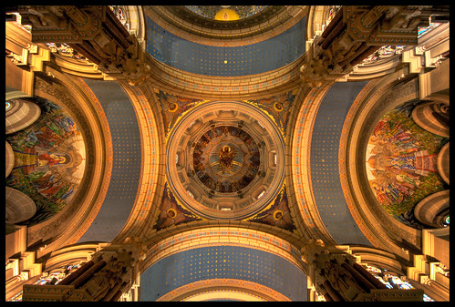 church roof HDR