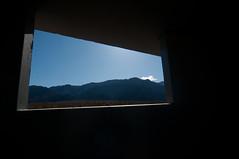 Window (Zach Hollandsworth) Tags: california leica mountains window nikon desert deathvalley 2009 deathvalleynationalpark leicam3