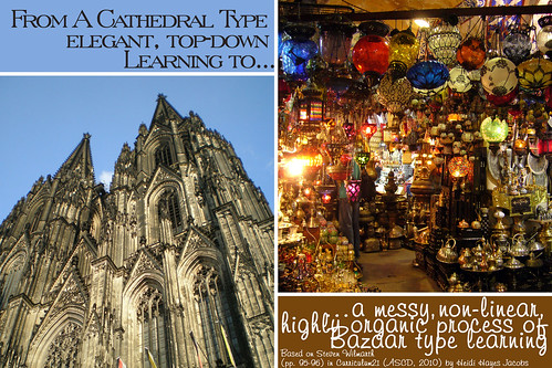 From Cathedral to Bazaar type learning