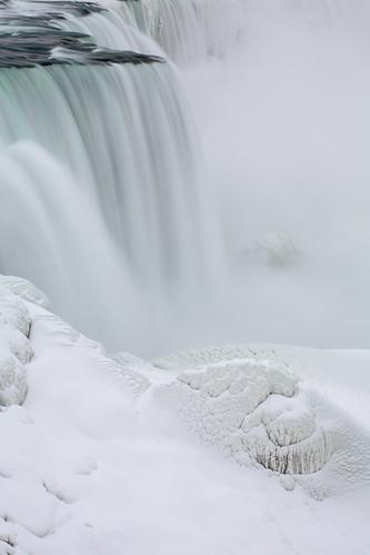 Niagara Falls: Clouds of spray