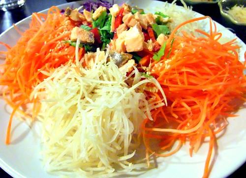 Thai Inspired Yee Sang