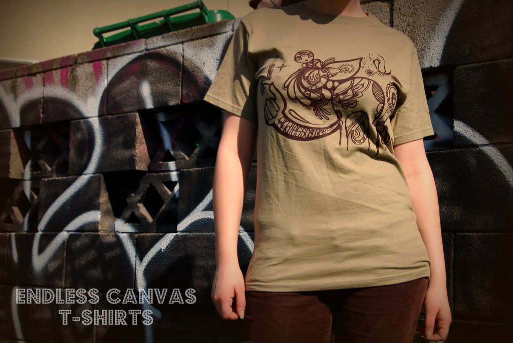 Dead Eyes ENDLESS CANVAS T-Shirts for Sale.