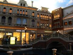 Storefronts, Grand Canal Shops, The Venetian Las Vegas
