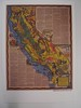 CALIFORNIA - The Golden State (Mumu X) Tags: california usa vintage map postcard reprint