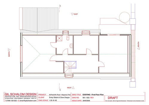 003 EXISTING - First Floor Plan