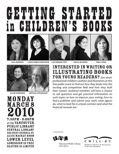 Getting Started in Children's Books 2010 Poster