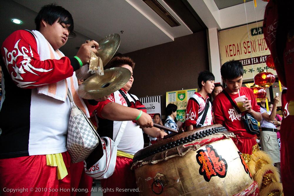 Lion Dance Musician @ Kompleks Selangor, KL, Malaysia