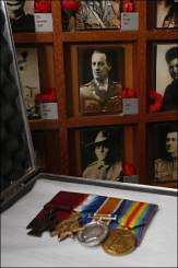 Touring Victoria Cross medal exhibit