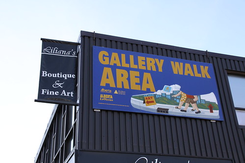 Art Gallery Walk Jasper Avenue Edmonton
