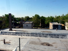 Don't worry about anything; (yooperann) Tags: chicago green rooftop illinois cta line bible verse philippians