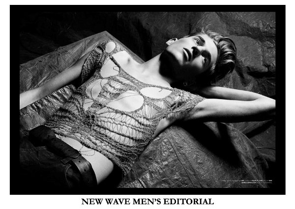 NEW WAVE MEN'S EDITORIAL