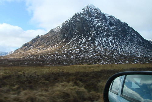 Buchaile Etive Mor, and Wing Mirror