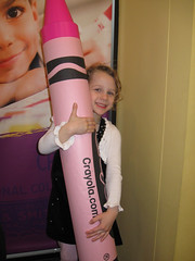 Big crayon, little Lila