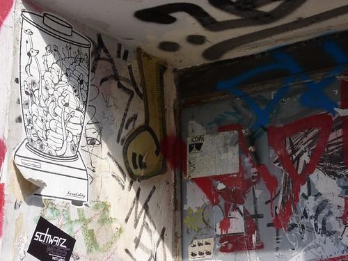 Streetart Friedrichshain 2010