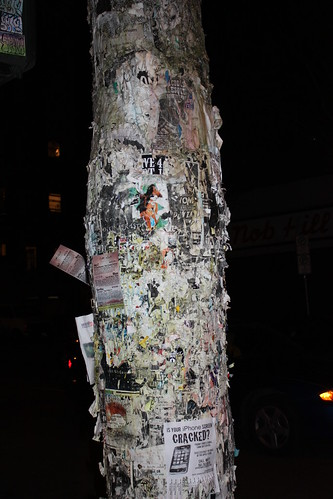 Hey, that trees bark is made of shitty bands. - Chris