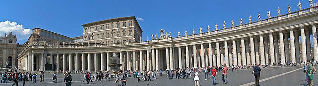 Panorama photo no. 07 - Rome, Vatican city, Saint Peter's Square