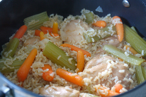 Everyday Food One Pot Chicken and Brown Rice