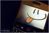 ☺ ابتسم .. اضحكـ وخلي الهم يتكدر ☺ (ღ ₡a№nG!ŕL ღ) Tags: smile mobile happy blackberry canon50d bold9000 ef50mmf14usmstandard