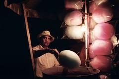 (Claudio Valle) Tags: luz azul de mexico noche rosa sombrero mirada rostro azucar mexiko algodones algodon algodonero