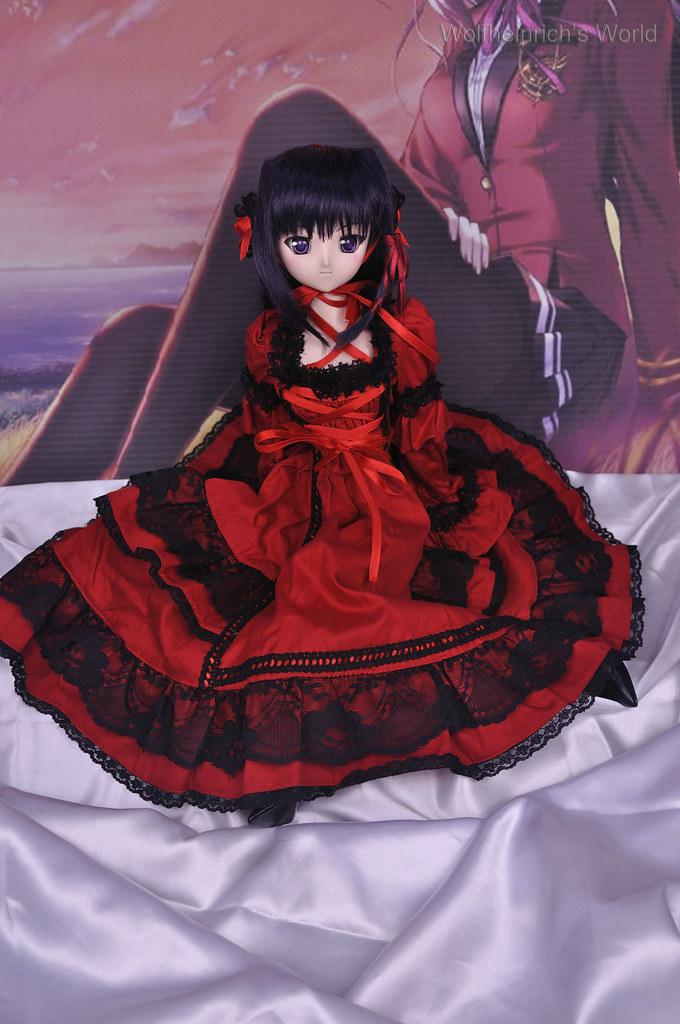 Dollfie Dream Kiriha 紅瀬桐葉 Luts Red Dress
