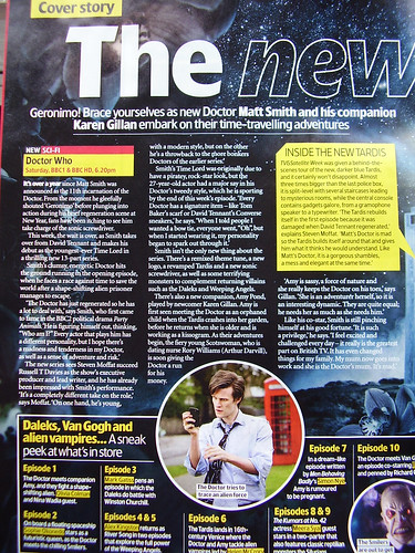TV & Satellite Week, 3-9 April 2010