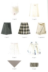 Mayumi Katsuya Pattern book (This and That From Japan) Tags: girls japan children japanese book clothing pattern sewing skirt how accessories tops mayumi katsuya