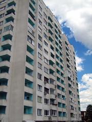 380  2007 . Sveta Troitsa resid. complex Block 380 Sofia Bulgaria (Balkanton) Tags: design modernism communist communism bulgaria socialist socialism modernist