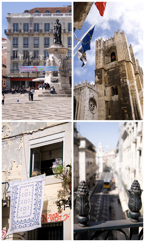 Collage Lisbona