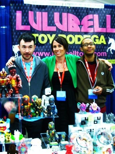 Lulubell at Wondercon 2010